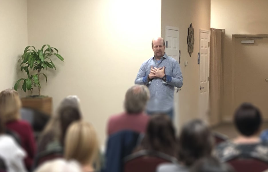 Mediumship Demonstration Events with Carl Seaver at The Karma Castle