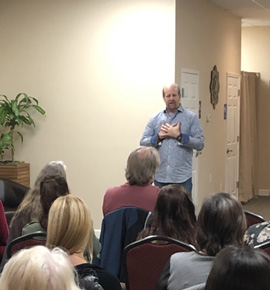 Demonstration of Mediumship near Florida